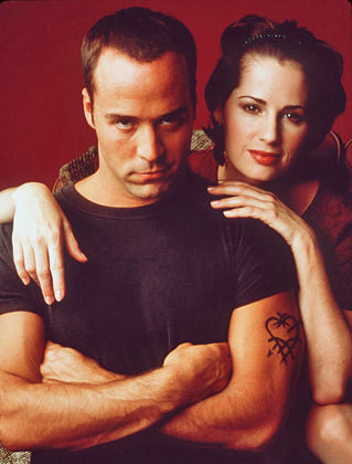 Jeremy Piven and Paula Marshall in Cupid