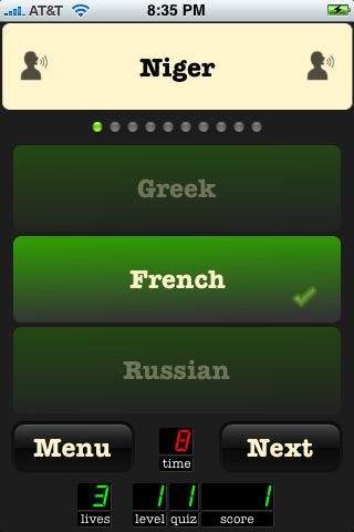 inFact World Screen