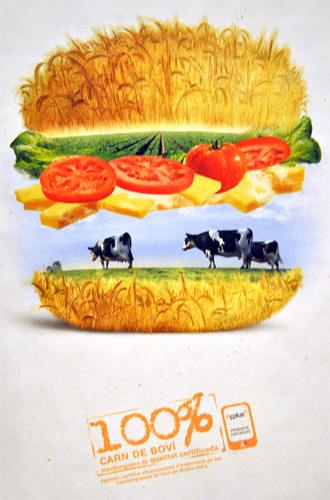 McDonalds Beef Poster