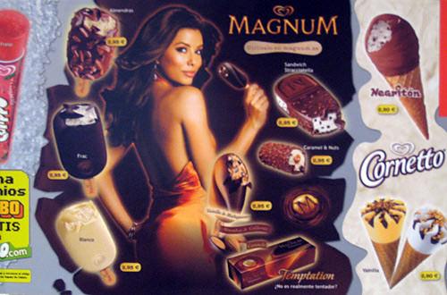 Sexy Magnum Ice Cream Ad