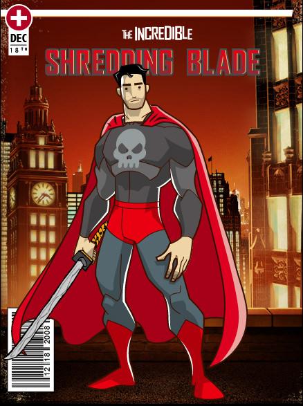 My Hero: The Shredding Blade!