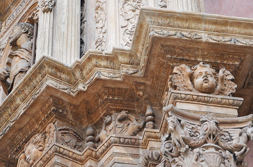 Palma Cathedral Carvings