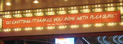 Ache With Pleasure Sign