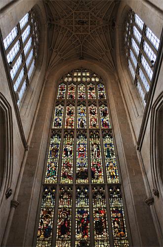 Inside Bath Abbey