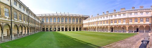 Trinity College Cambridge Grounds