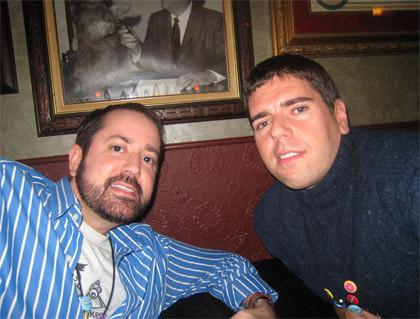 Dave and Andy at Davenburgh