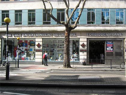 Forbidden Planet London Store