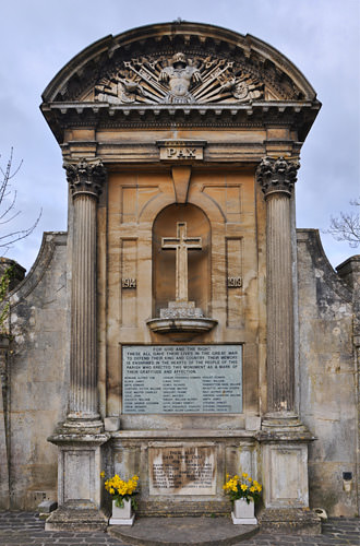 Lacock War Monument