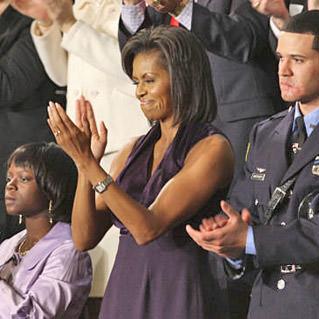 Michelle Obama Sleeveless