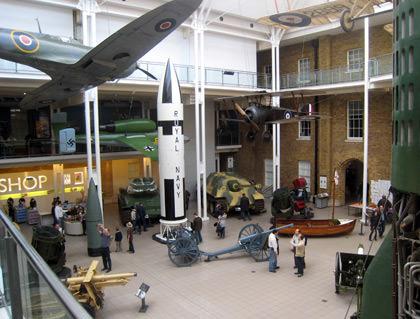 Imperial War Museum Interior