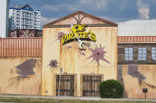 Pirates Adventure Building