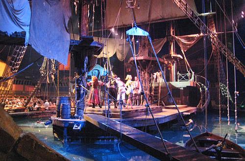 Pirates Advanture Stage