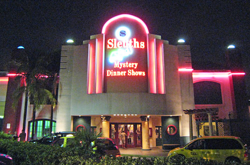 Sleuths Dinner Show