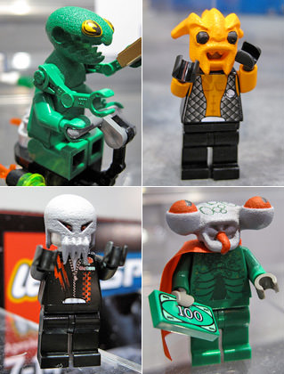 Lego Space 3 Aliens