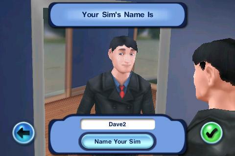 Sims3: Character Creating Dave
