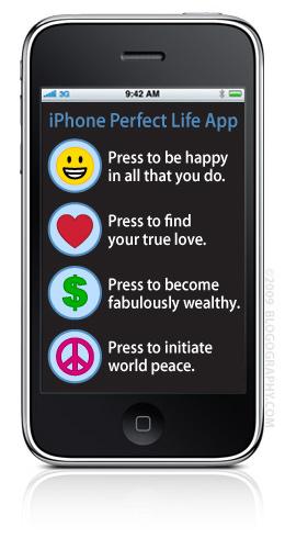 iPhone Perfect Life App