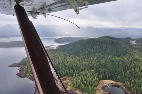 Float-Plane Flight to Neets Bay, Alaska