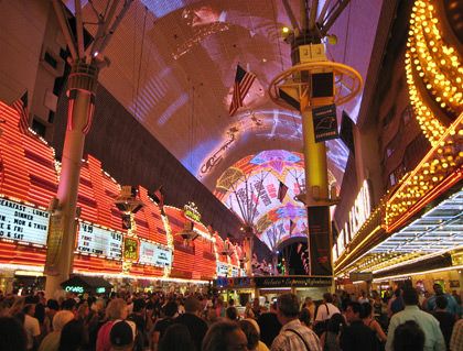 Fremont Street Experience!