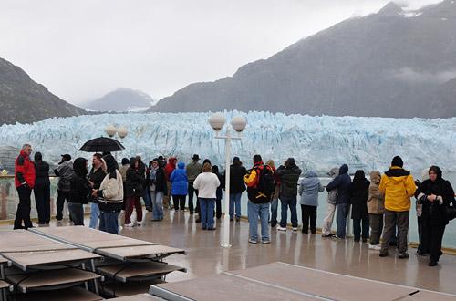 Norwegian Peal Glacier Overlook