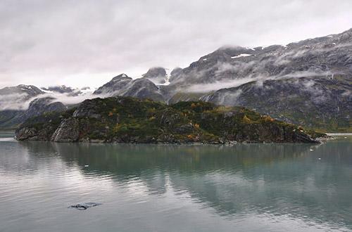 Island in Glacier Bay