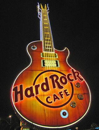 Hard Rock Cafe Vegas Guitar
