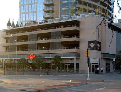 Hard Rock Cafe Dallas Parking Garage