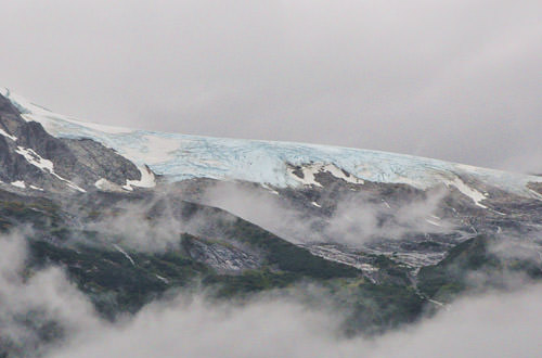 Harding Glacier in Skagway