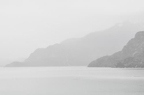 Mists on Glacier Bay