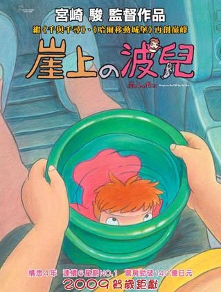 Ponyo Teaser Poster