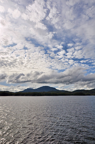 Queen Charlotte Island from Sea