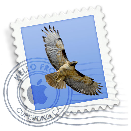 Mail's little stamp icon at full-size