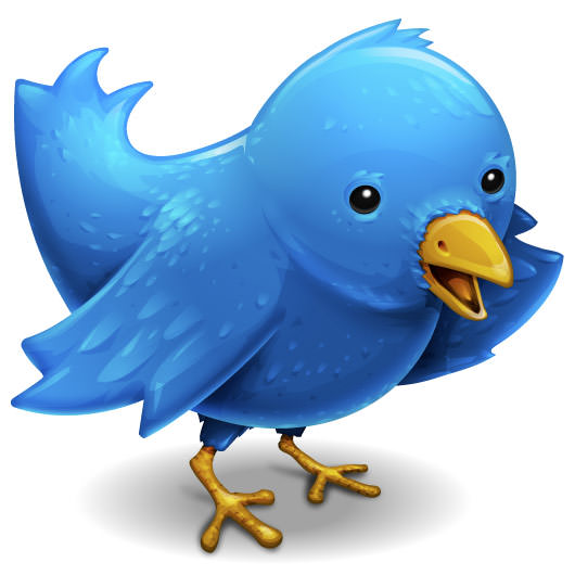 Twitterific's little bird icon at full-size