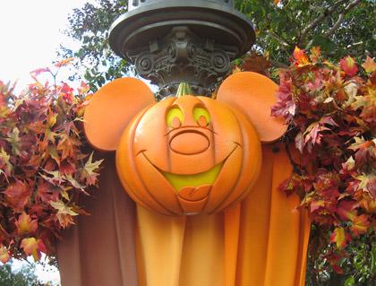 Walt Disney World Halloween Decorations