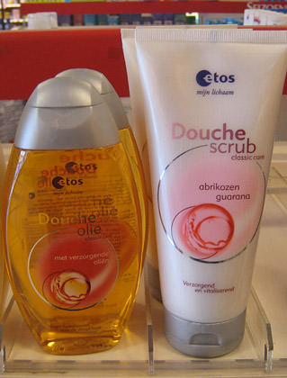 Douche Oil and Douche Scrub