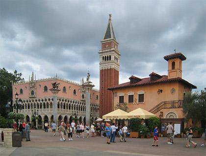 Disney Epcot's World Showcase: ITALY