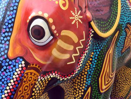 Amsterdam Elephant Detail