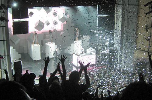 Silver Confetti Finale!