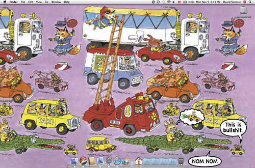 Dave's Richard Scarry Desktop