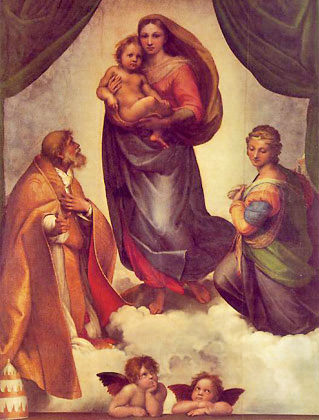 Sistine Madonna by Raphael
