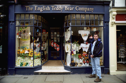 Dave in Front of Teddy Bear Co.