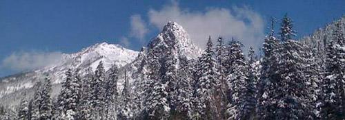 Cascade Mountains in Washington