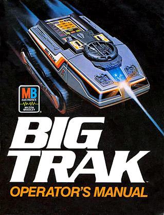 Big Trak Manual Cover