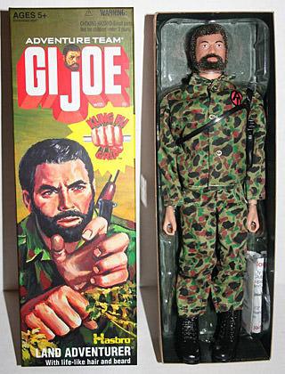 GI Joe Boxed Doll