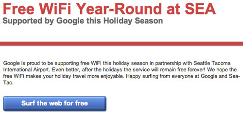 Free WiFi Forever at Sea-Tac!
