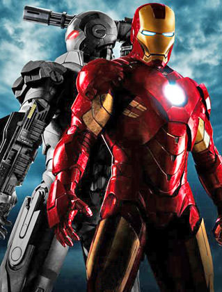 Iron Man and War Machine Poster