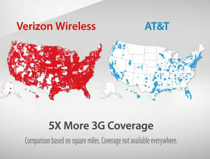 Verizon 3G Map