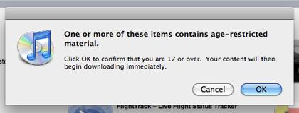 iTunes MORON ALERT!