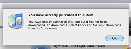 iTunes STUPIDITY ALERT!