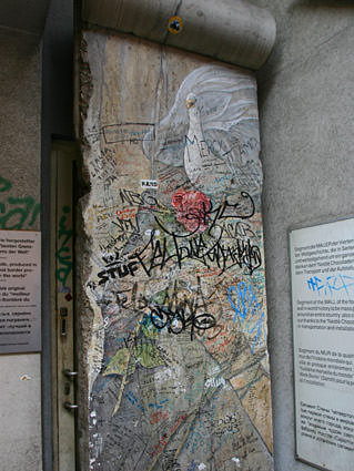 Berlin Wall Remnant