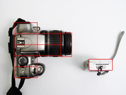 Camera Size Comparison